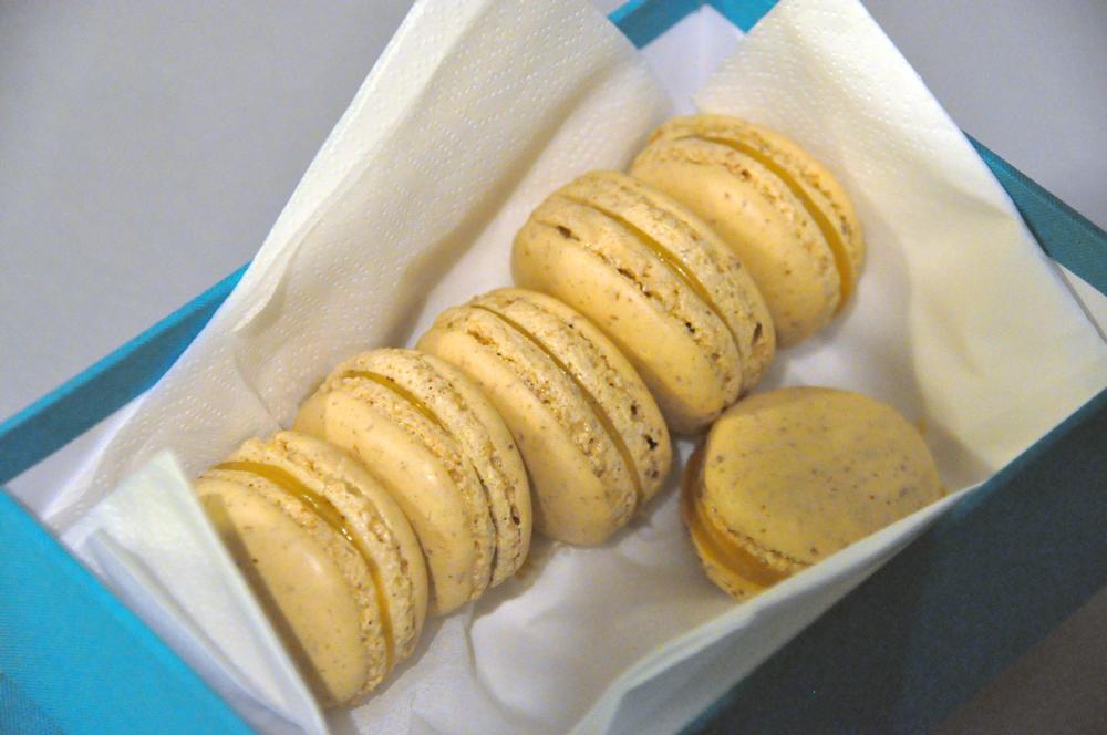 Makron-med-karamell